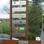 panneaux d'entreprises