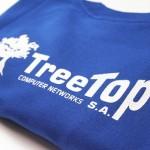 treetop / sérigraphie textile